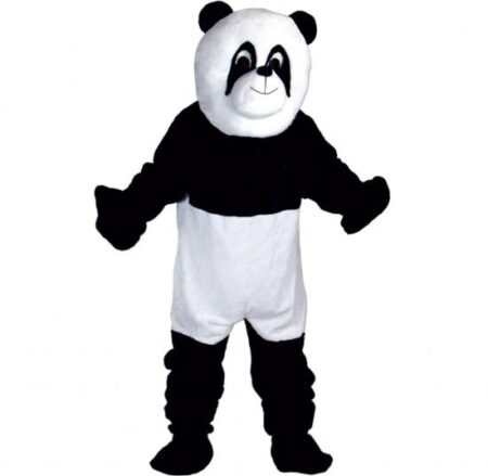 Panda maskot kostume 450x439 - Panda kostume til voksne