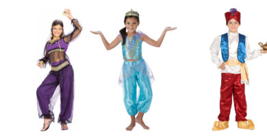 arabisk kostume til børn arabisk prins børnekostume aladdin kostume til drenge arabiens drøm kostume til børn prinsesse jasmin