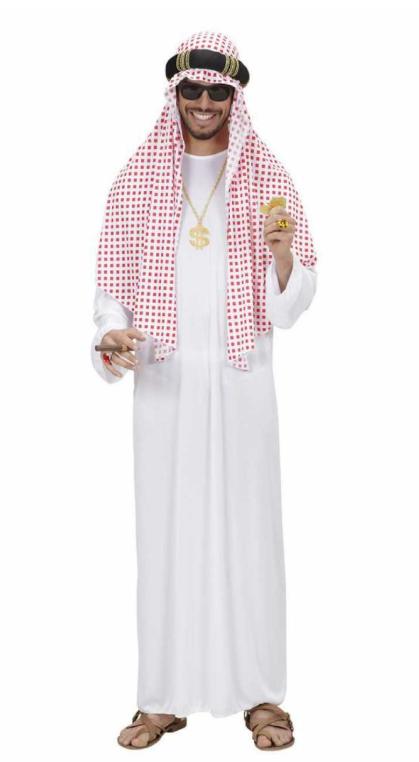 arabisk sheik kostume arabisk kostume karneval sidste skoledag 1001 nat kostume arabisk udklædning