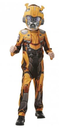 bumble bee børnekostume transformers kostume 6 år fastelavnskostume dreng