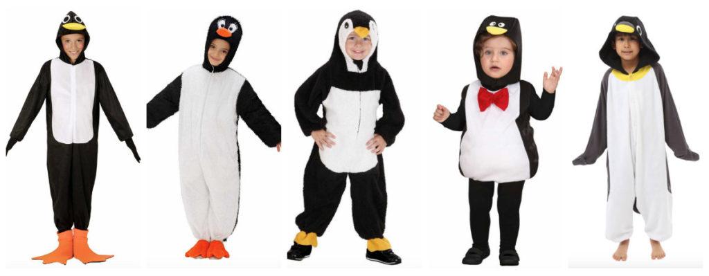 collage 1 1024x399 - Pingvin kostume til børn og baby