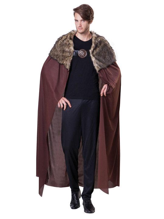 games of thrones kostume til voksne northman kappe northman kostume til voksne