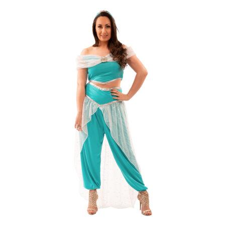 jasmin kostume til voksne prinsesse asmin kostume aravisk prinsesse kostume til kvinder