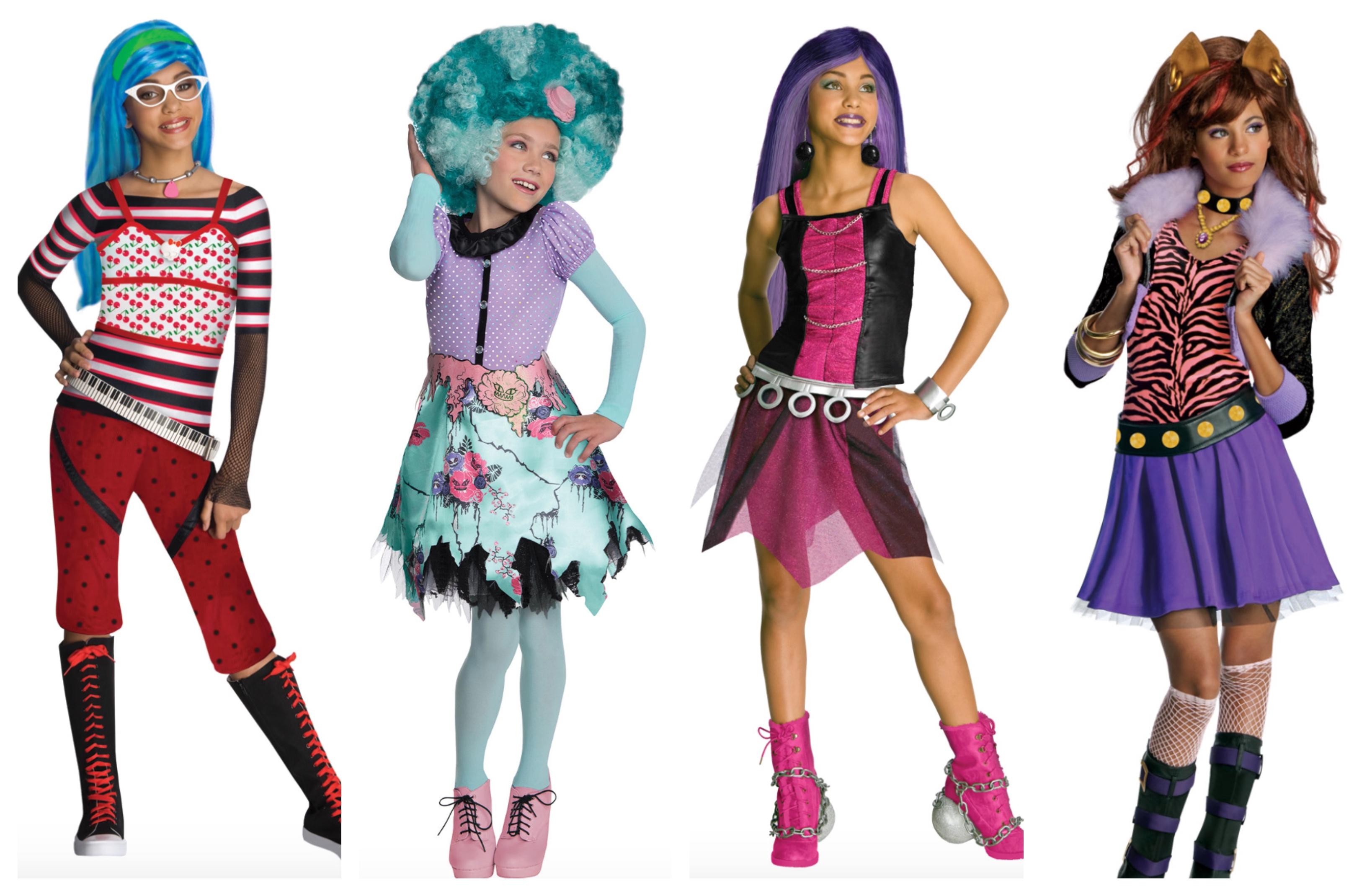 monster high kostume til børn - Monster High kostume til børn