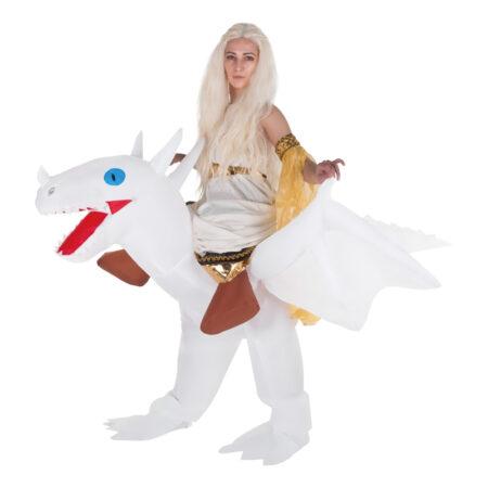oppusteligt drage kostume 450x450 - Drage kostume til voksne