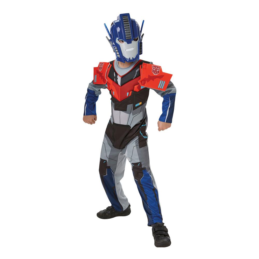 optimus prime luksus transformer kostume til børn transformers børnekostume optimus udklædning kostumeuniverset fastelavnskostume til drenge 2019