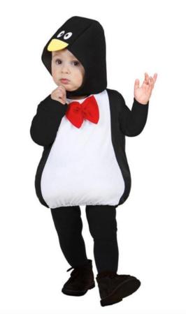 pingvin babykostume 266x450 - Pingvin kostume til børn og baby