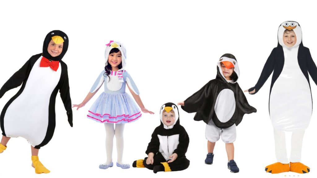 pingvin kostume til barn pingvin kostume baby fastelavnskostume til børn