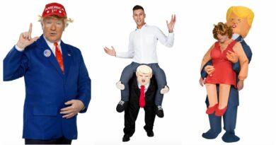 Donald trump kostume til voksne, donald trump udklædning til voksne, donald trump kostumer, donald trump voksen kostumer, donald trump fastelavnskostume til voksne