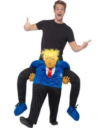 Carry Me Præsident Trump 384x450 - Donald Trump kostume til voksne