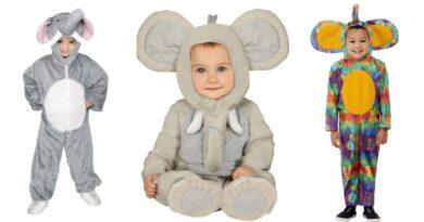 Elefant kostume til børn 390x205 - Elefant kostume til børn og baby