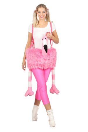 Flamingo kostume til voksne 1 300x450 - Flamingo kostume til voksne