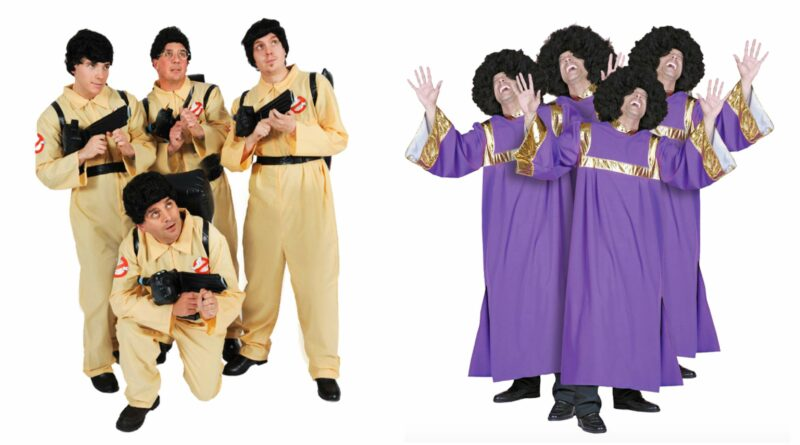 Gruppe kostumer 800x445 - Gruppe kostume til voksne