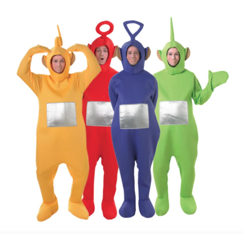 Gruppe kostumer til voksne 1024x988 - Gruppe kostume til voksne