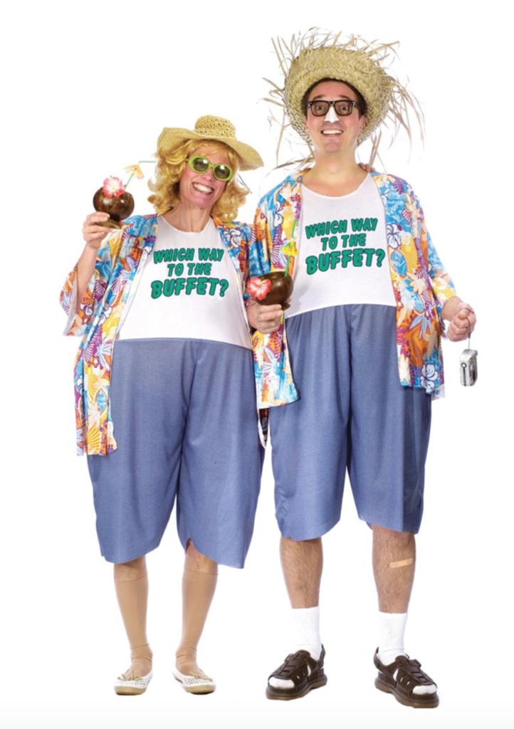 Tyk turist par kostumer til voksne 722x1024 - Par kostumer til voksne