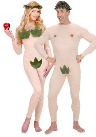 adam og eva kostume til voksne par kostume til voksne bibelsk kostume til voksne