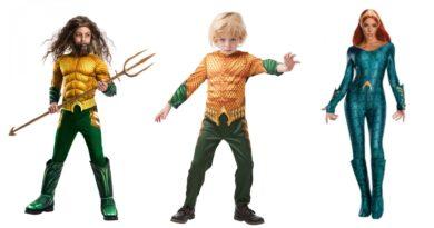 aquaman kostume 390x205 - Aquaman kostume