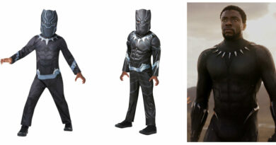 black panther kostume til børn black panther børnekostume black panther udklædning superhelte kostume til dreng Sorte panter kostume sort kostume til børn Tchalla sort supehelt