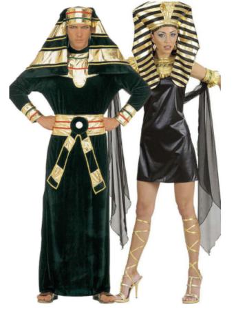 egyptisk par kostume til voksne farao kostume par kostume
