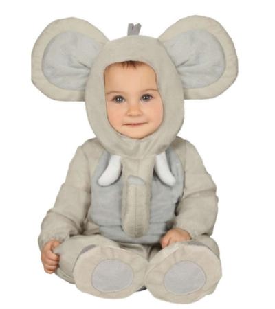 elefant babykostume 400x450 - Elefant kostume til børn og baby