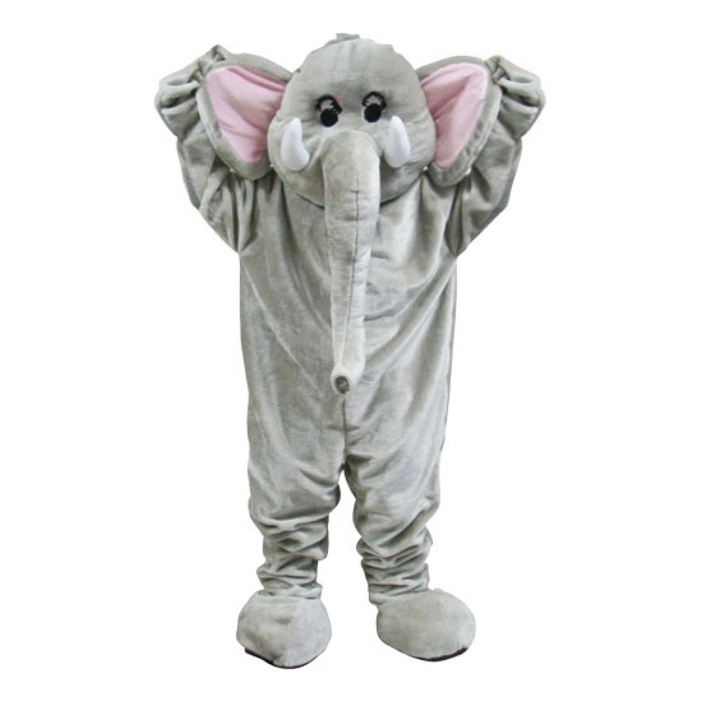 elefant maskot kostume - Elefant kostume til voksne