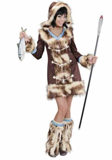 eskimo kostume til voksne aika eskimo fanger kostume eskimo fastelavnskostume til voksne grønland kostume fanger kostume arktisk kostume