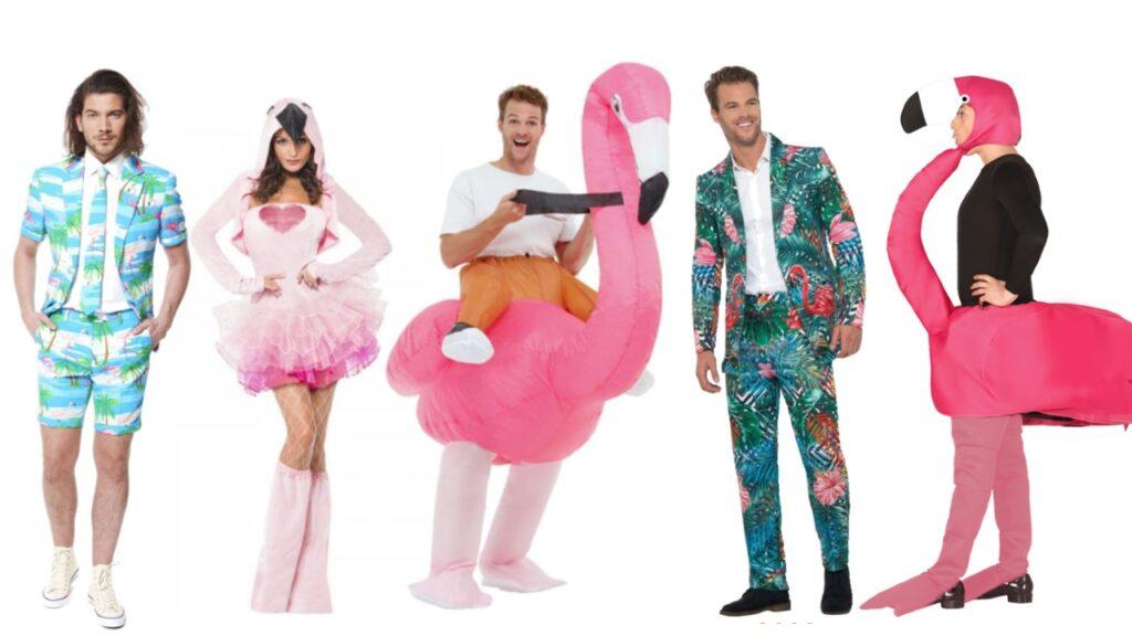 flamingo kostume til voksne flamingo jakkesæt til voksne tropisk kostume til voksne spraglet jakkesæt til mænd