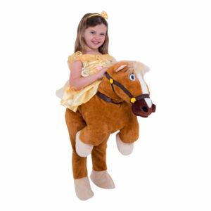 hest kostume til børn hestekostume til børn hest børnekostume rytter ride on me kostume disney belle til hest kostume