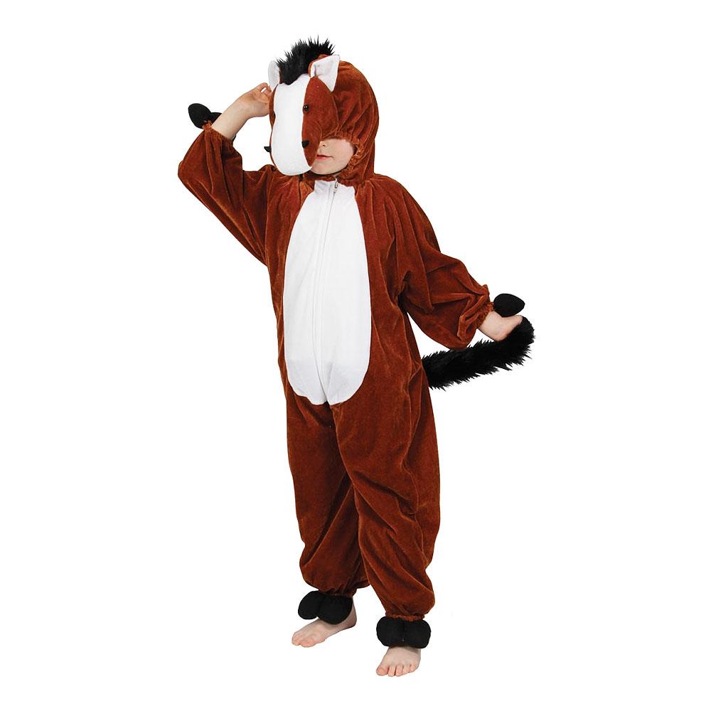 hest kostume til børn hestekostume til børn hest børnekostume rytter ride on me kostume heldragt hest kigurumi til børn