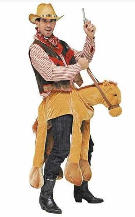hest kostume til voksne hestekostume til voksne fastelavnskostume til voksne dyrekostume hestehoved udklædning cowboy hest