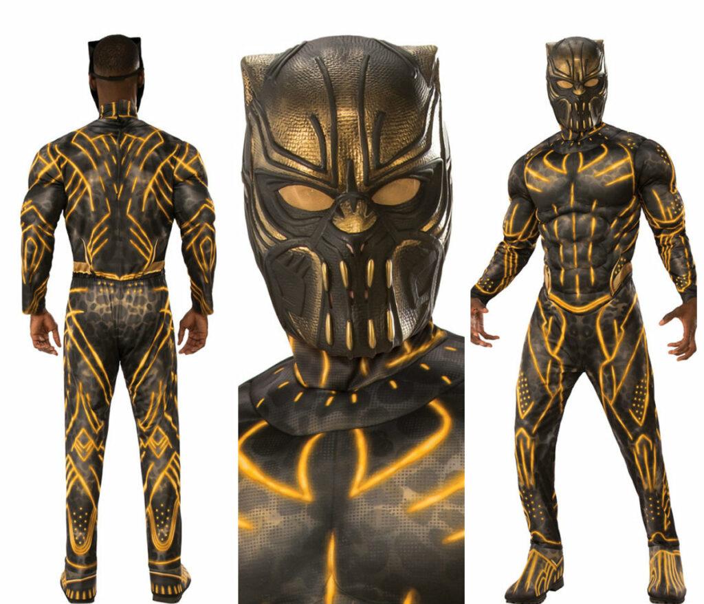killmonger kostume til voksne black panther skurk kostume til voksne skurkekostume marvel kostume sort kostume