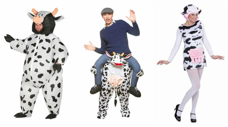 ko kostume til voksne ko kostume malkeko kostume til voksne ko udklædning fastelavnskostume til voksne bondegårdsdyr kostume