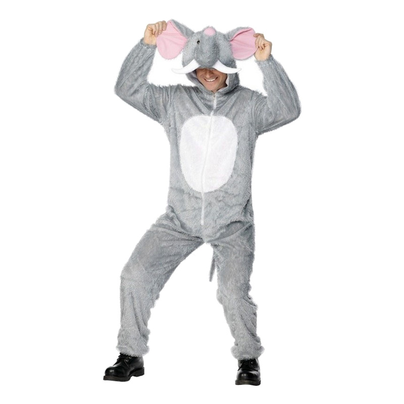 kostume til voksne elefant kostume til voksne plysdragt elefant kostume til voksne elefant udklædning kostume karnevalskostume fastelavnskostume afrika kostume.