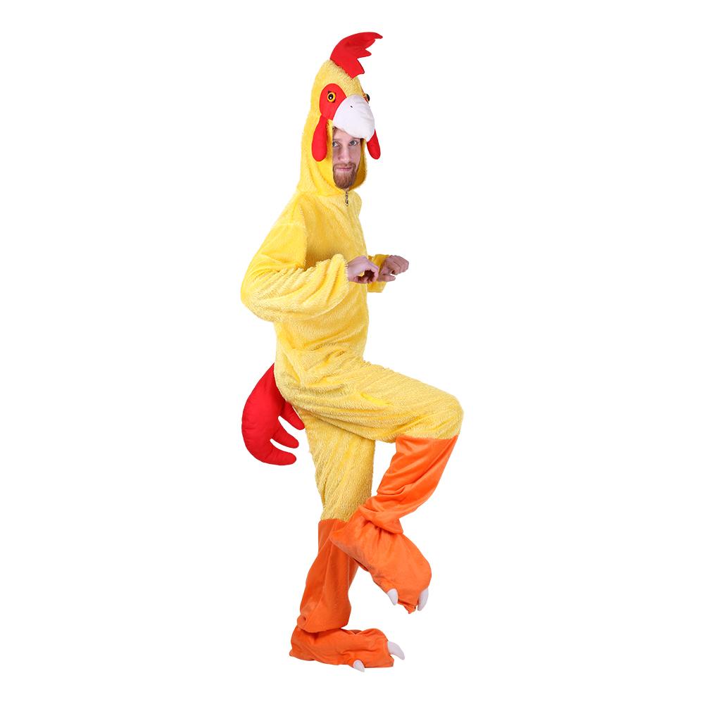 kylling voksen kostume - Kylling kostume til voksne
