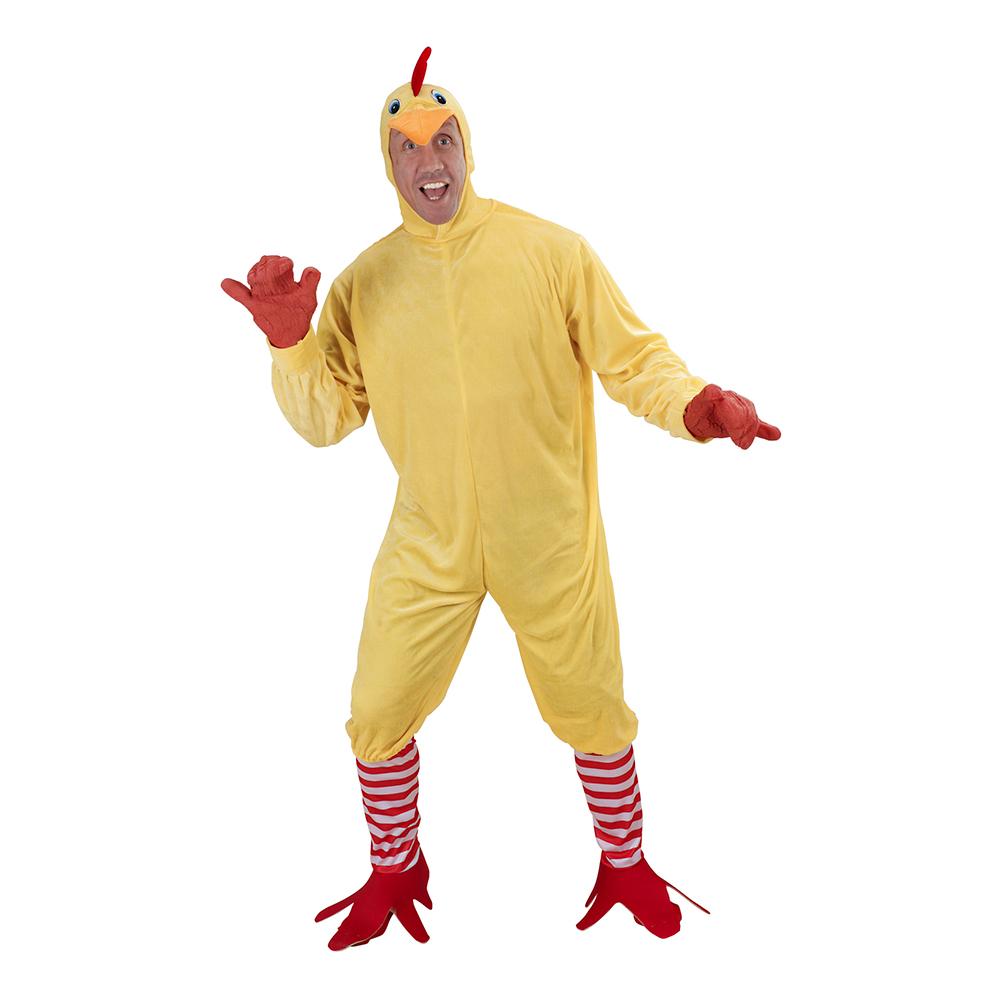 kylling voksenkostume - Kylling kostume til voksne