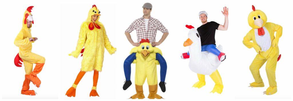 kyllingkostume til voksne 1024x355 - Kylling kostume til voksne