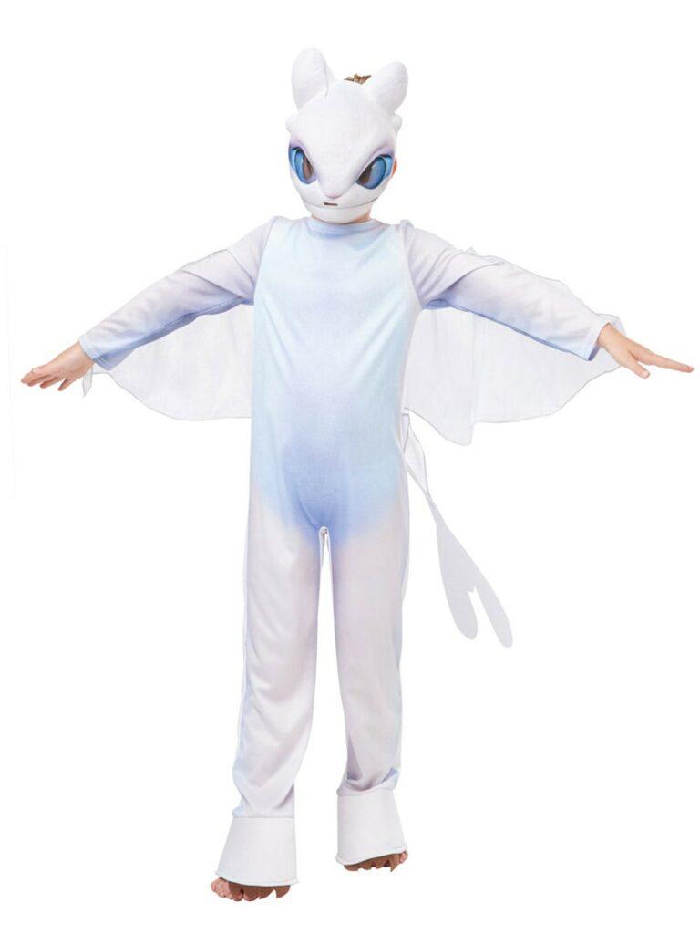 lysskygge kostume til børn sådan træner du din drage kostume til børn hvid drage kostume til børn dragekostume børnekostume
