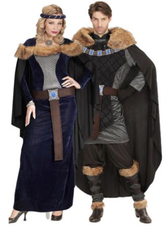 middelalder par kostume ringende herre kostume viking par kostume netflix kostume