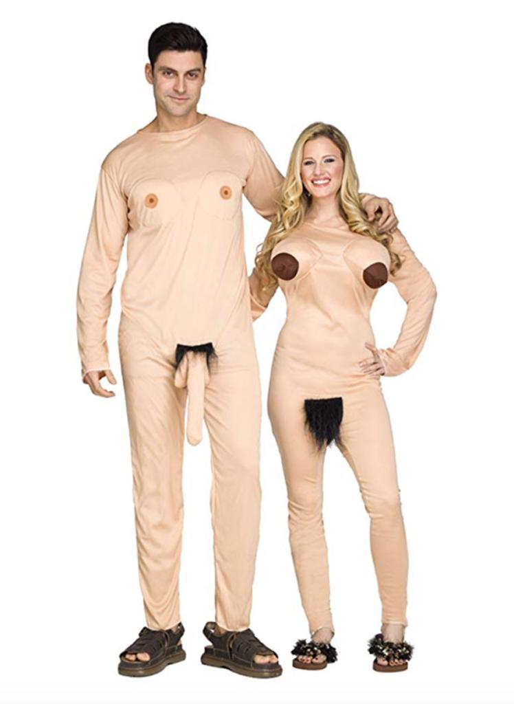 nudist par kostume til voksne 748x1024 - Par kostumer til voksne