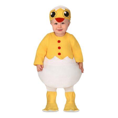 nyudklækket kylling babykostume 450x450 - Kylling kostume til børn og baby
