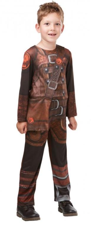 sådan træner du din drage kostume hikke kostume fastelavnskostume hiccup kostume til børn brunt kostume eventyrligt kostume til børn kiccup børnekostume