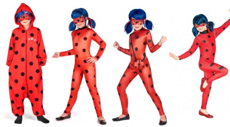 ladybug kostume til børn miraculous ladybug kostume til børn superhelt kostume til piger rødt kostume til piger
