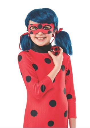 Miraculous Ladybug Yo yo og Øreringe 316x450 - Ladybug kostume til børn - Miraculous Ladybug & Cat Noir