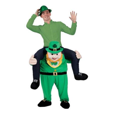 carry me leprechaun kostume skt patricks kostume til voksne
