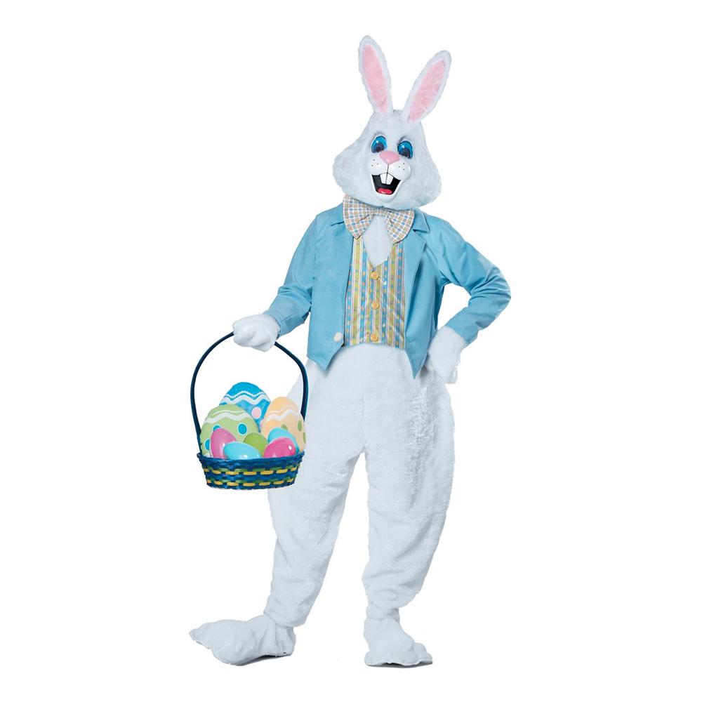 påskehare kostume til voksne påskehare udklædning påskehare fastelavnskostume kostume til påske påskekostume deluxe
