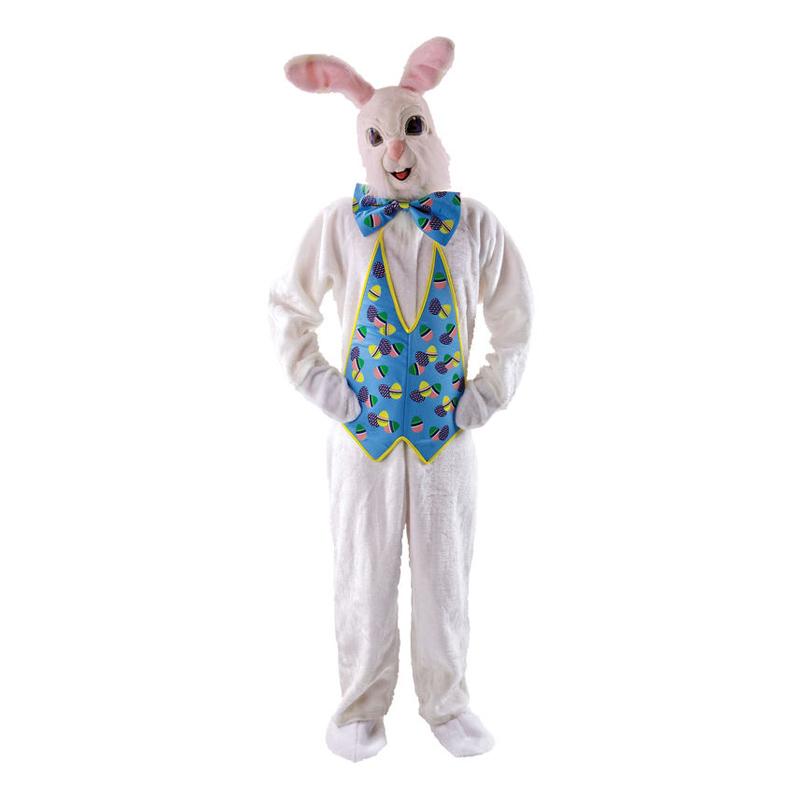 påskehare kostume til voksne påskehare udklædning påskehare fastelavnskostume kostume til påske påskekostume luksus kostume