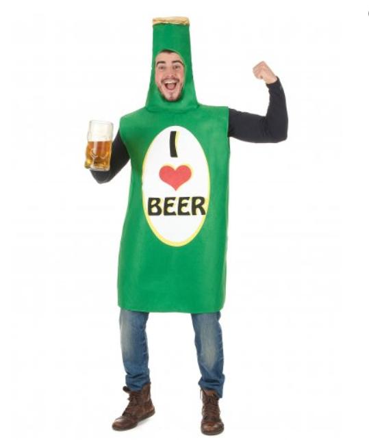 sankt patricks day kostume til mænd øl kostume til mænd grønt kostume til mænd flaske kostume skt patricks day kostume sankt patricks dag udklædning grønt kostume