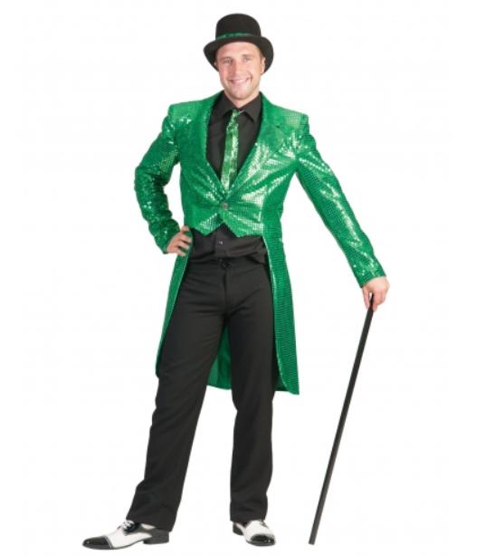 sankt patricks day kostume til mænd jakkesæt kostume