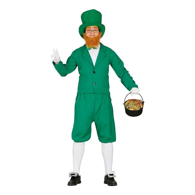 sankt patricks day kostume til mænd leprechaun kostume luksus kostume skt patricks day kostume sankt patricks dag udklædning grønt kostume