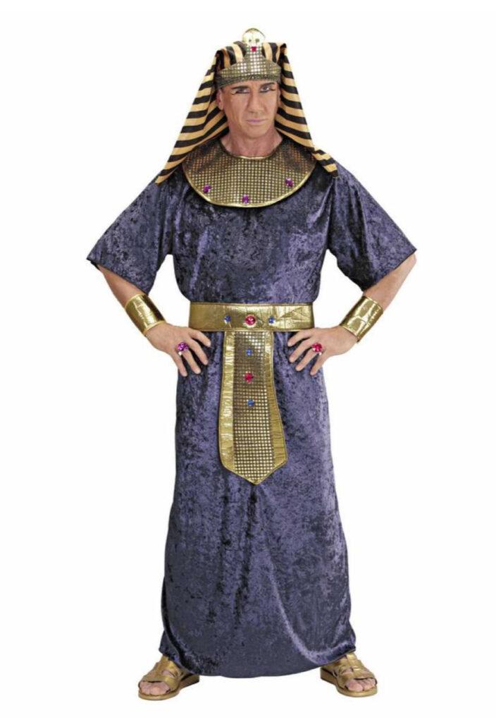 blå kostume konge af egypten kostume farao forklædning